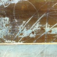 Barn Blue Square I Fine-Art Print