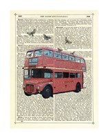 Butterfly London Bus Fine-Art Print