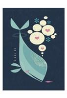 Whale has a Friend Fine-Art Print