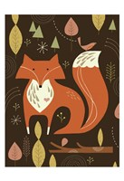 Fox in the Woods Fine-Art Print