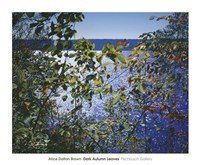 Dark Autumn Leaves Fine-Art Print