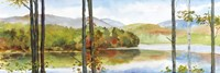 Autumn Lake I Fine-Art Print
