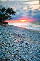 Gili Islands, Indonesia, Sunset along the beach Fine-Art Print