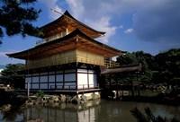Golden Pavilion, Zen Temple, Kinkakuji, Kyoto, Japan Fine-Art Print