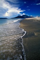 Asia, Indonesia, Krakatau Volcano Beach scene Fine-Art Print
