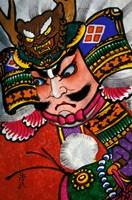 Samurai, Warrior Folk Art, Takamatsu, Shikoku, Japan Fine-Art Print