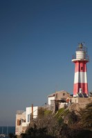 Israel, Tel Aviv, Jaffa, Jaffa Old Port, lighthouse Fine-Art Print