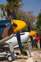Israel, Be-er Sheva, Air Force, Vintage Airplanes Fine-Art Print