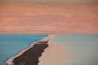 Israel, Dead Sea, Ein Bokek, Dead Sea, dusk Fine-Art Print