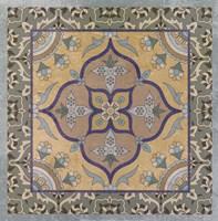 Floral Tile II Fine-Art Print