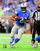 Reggie Bush Running Football Fine-Art Print