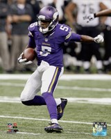 Teddy Bridgewater Football Run Fine-Art Print
