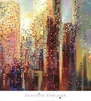 City Daybreak Fine-Art Print
