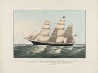 "The Clipper Ship ""Sovereign of the Seas"", 1852 Fine-Art Print"