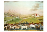 The Cornell Farm, 1848 Fine-Art Print