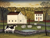 White Farm Fine-Art Print