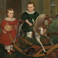 The Hobby Horse, ca. 1840 Fine-Art Print