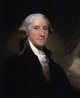 Portrait of George Washington, 1795 Fine-Art Print