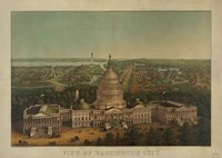 View of Washington City, c. 1869 Fine-Art Print
