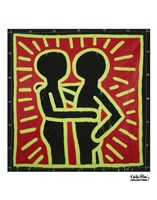 Untitled, 1982 (couple in black, red, and green) Fine-Art Print