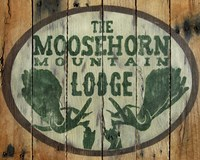 The Moosehorn Mountain Lodge Fine-Art Print