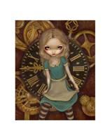 Alice and Clockworks Fine-Art Print