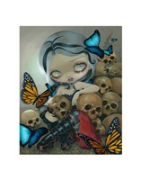Butterflies and Bones Fine-Art Print