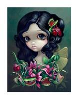 Carnivorous Bouquet Fairy Fine-Art Print