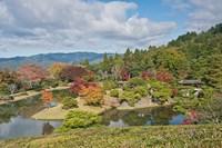 Yokuryuichi Pond, Shugakuin Imperial Villa, Kyoto, Japan Fine-Art Print