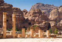 Great Temple, Petra, UNESCO Heritage Site, Jordan Fine-Art Print