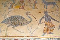 Mosaics, Moses Memorial Church, Mount Nebo, East Bank Plateau, Jordan Fine-Art Print