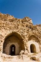 The crusader fort of Kerak Castle, Kerak, Jordan Fine-Art Print