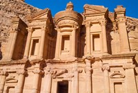 The Monastery or El Deir, Petra, UNESCO World Heritage Site, Jordan Fine-Art Print