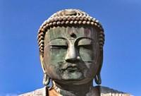 Japan, Kanagawa, Great Buddha, the bronze Daibutsu Fine-Art Print