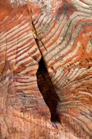 Sandstone Rock Formations, Petra, Jordan Fine-Art Print