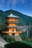 Kumano Nachi Shrine, Katsuura, Wakayama, Japan Fine-Art Print