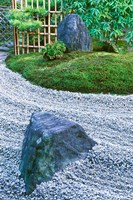 Daitokuji Temple, Zuiho-in Rock Garden, Kyoto, Japan Fine-Art Print