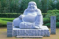 Statue at Kumano Nachi Shrine, Katsuura, Wakayama, Japan Fine-Art Print
