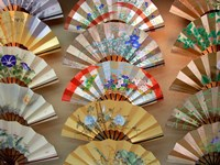 Folding Fan, Kyoto, Japan Fine-Art Print