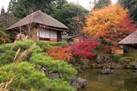 Tea House, Kyoto, Japan Fine-Art Print