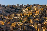 Traditional houses in Amman, Jordan Fine-Art Print