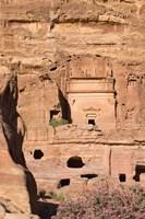 Uneishu Tomb, Petra, Jordan Fine-Art Print