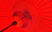 Red Radial, Japan Fine-Art Print