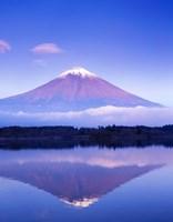 Mt Fuji with Lenticular Cloud, Motosu Lake, Japan Fine-Art Print