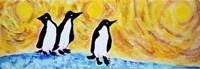 Starry Night Penguin II Fine-Art Print