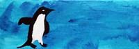 Blue Penguin I Fine-Art Print