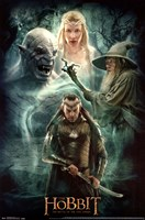 The Hobbit 3 - Collage Wall Poster