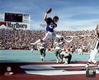 Andre Reed 1990 Action Fine-Art Print