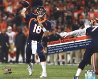 Peyton Manning becomes the NFL's All-Time leader in career Touchdown Passes- October 19, 2014 Fine-Art Print