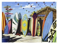 Surf Shack Fine-Art Print